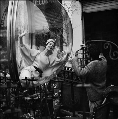 Melvin Sokolsky, 'Bird Cage Laugh, Paris', 1963