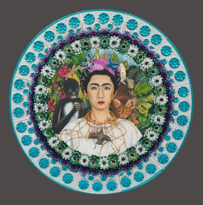 Yasumasa Morimura 森村 泰昌, 'An Inner Dialogue with Frida Kahlo (Collar of Thorns)', 2001