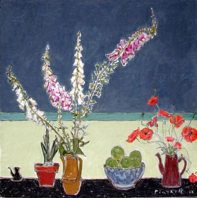 Joseph Plaskett, 'Still Life with Foxgloves & Poppies 2'
