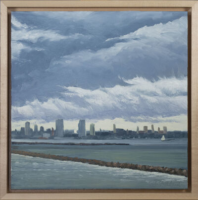 Beth Stoddard, 'Storm Passing Over Bay View Park', 2018