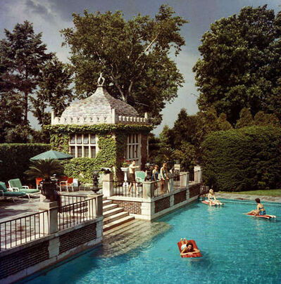 Slim Aarons, 'Family Pool', 1960