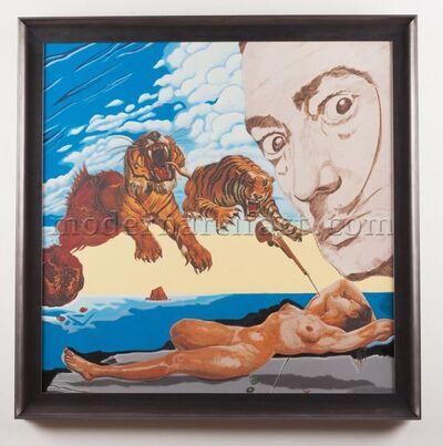 Steve Kaufman, 'Homage to Dali', 1995