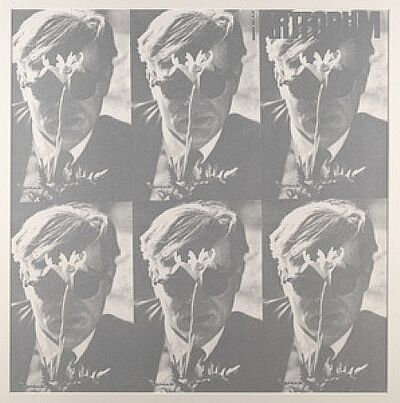 Dennis Hopper, '1964 Art Forum-Andy Warhol (Light Silver Version)', 1988