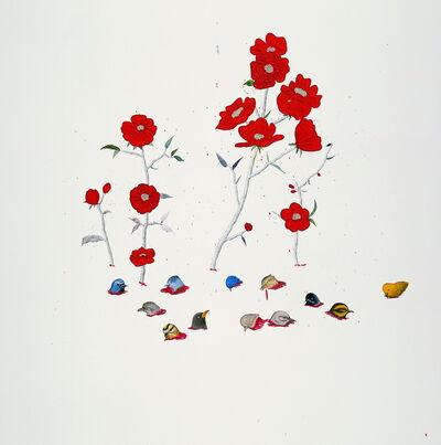 Ji Dachun 季大纯, 'Bird Flowers', 2006