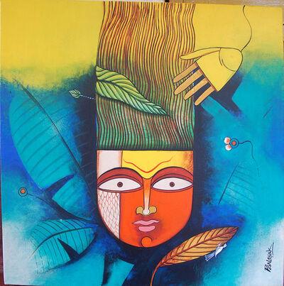 Prakash G Nayak, 'Mask of Goddess 21', 2019