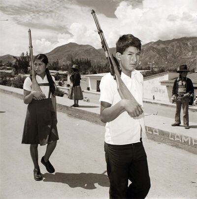 Rosalind Solomon, 'Untitled, New Yungay, Peru', 1980