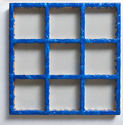 Sigfredo Chacón, 'Grid Blue #1', 2019