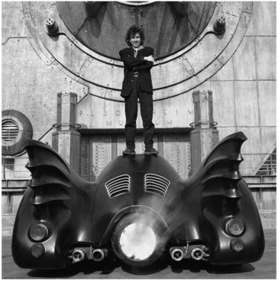Terry O'Neill, 'Burton and Batmobile', 1989
