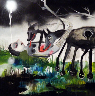 Silvia Argiolas, 'I tuoi occhi, i miei seni neri', 2012