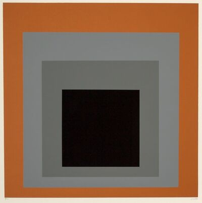 Josef Albers, 'Untitled, from the Homage au Carré portfolio', 1965