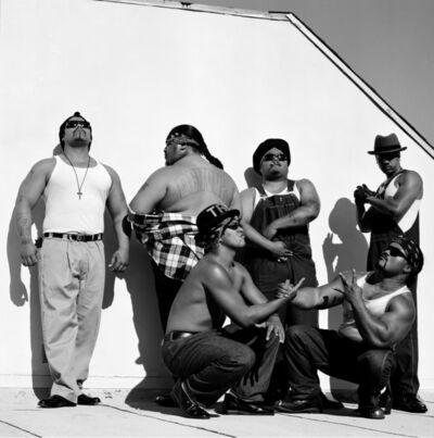 Janette Beckman, 'Boo-Yaa T.R.I.B.E., LA', 1990