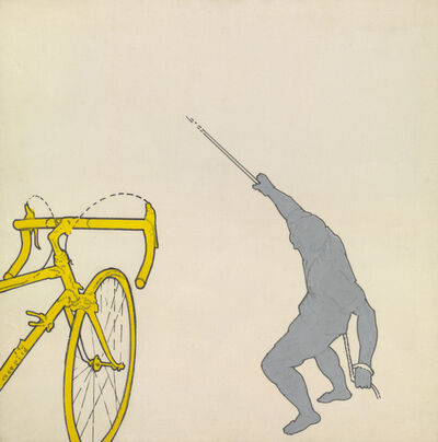 Renato Mambor, 'Tirare la fune', 1965