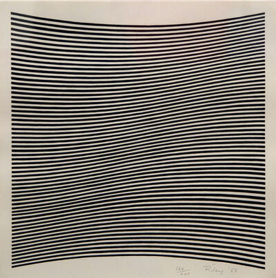 Bridget Riley, 'Untitled [La Lune en Rodage]', 1965