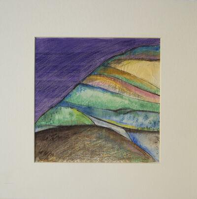 Vera Tamari, 'Abstreacted Landscape 5', 2017