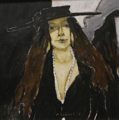 RFM McInnis, 'Shadow - Marla with a Black Hat', 2013