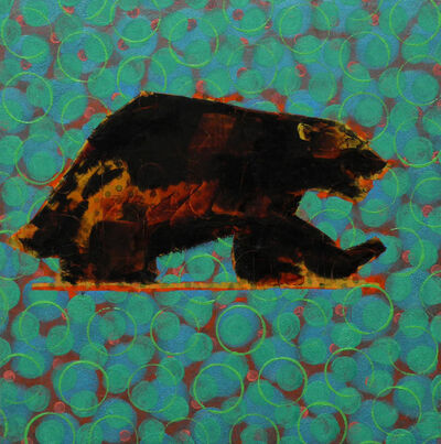 Les Thomas, 'Animal Painting #019-1758', 2019