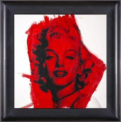 Steve Kaufman, 'Steve Kaufman  Marilyn Monroe Warhol Famous Assistant Oil Painting Canvas 26 x 27', 1990-2010