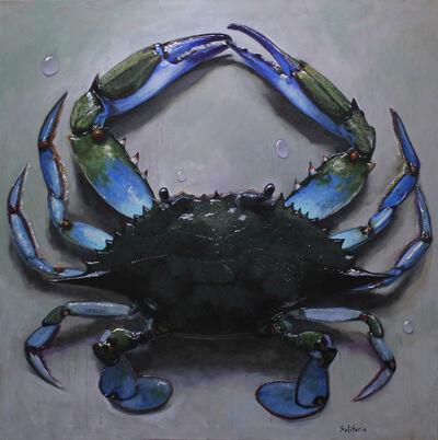 Billy Solitario, 'Mr Blue Crab on My Table ', 2019
