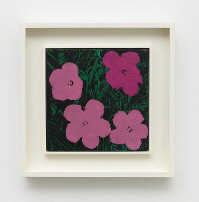 Sturtevant, 'Warhol Flowers', 1970