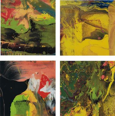 Gerhard Richter, 'Flow (P4); Flow (P5); Flow (P6); and Flow (P7)', 2013/2014