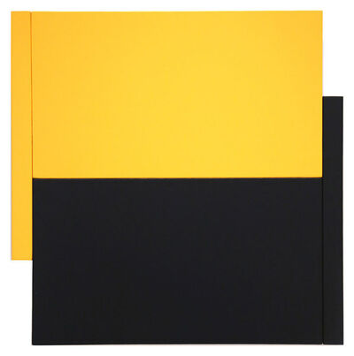 Scot Heywood, 'Shift -Yellow/Black'