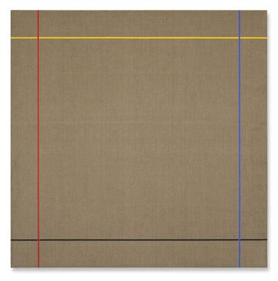 Winfred Gaul, 'Markierungen XV', 1973