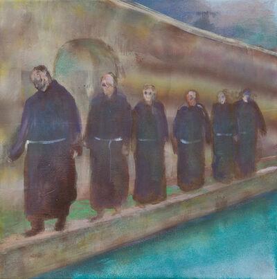 Peter Busch, 'untitled (monks)', 2018