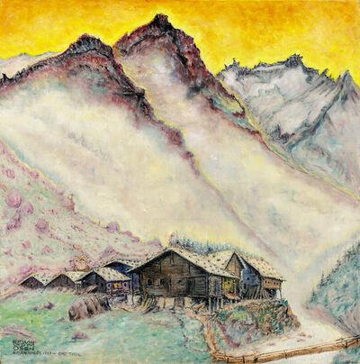 Erwin Dominik Johann Osen, 'Außergschlöss, East Tyrol', ca. 1920