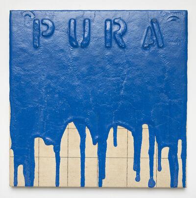 Sigfredo Chacón, 'Pura (Azul)', 1995/2004