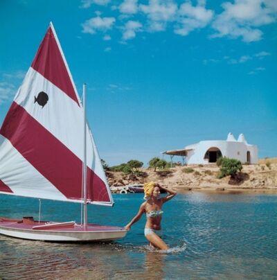 Slim Aarons, 'Sailing in Sardina', 1964