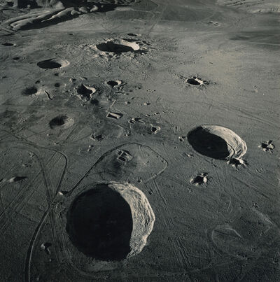 Emmet Gowin, 'Nuclear Test Craters on Yucca Flat, Area 10, Nevada Test Site', 1996