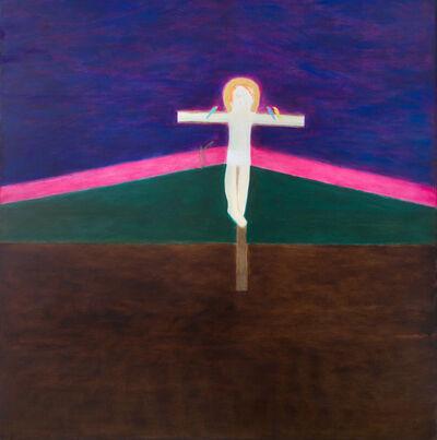 Craigie Aitchison, 'Crucifixion 8', 1985-1986