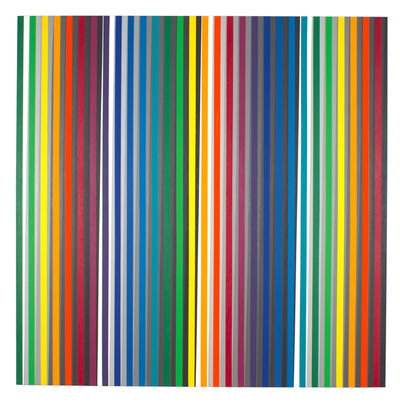 Gabriele Evertz, 'Twelve Hues and Thirteen Grays (Diaphanous)', 2012
