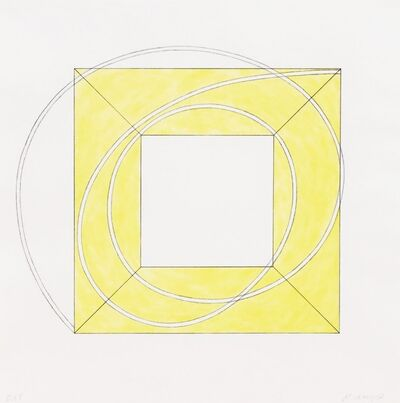 Robert Mangold, 'Framed Square with Open Center A', 2013