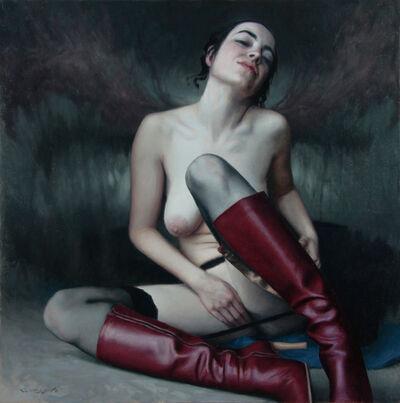 PABLO SANTIBÁÑEZ SERVAT, 'RED BOOTS ONE', 2016