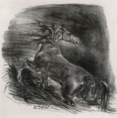 Eugène Delacroix, 'Cheval Sauvage', 1828
