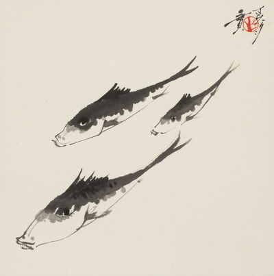 Minol Araki, 'Three Fishes (MA-113)', 1977