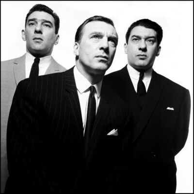 David Bailey, 'The Kray Brothers', 1965