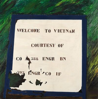 Franco Angeli, 'Welcome to Vietnam', 1970