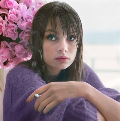William Helburn, 'Jean Shrimpton, Westhampton, New York', 1964