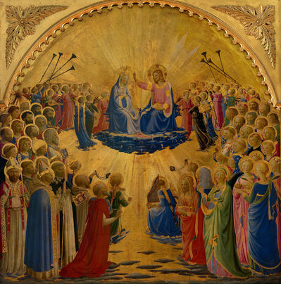Fra Angelico, 'Paradise', 1431-1435