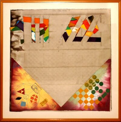 Alan Shields, 'Untitled Mixed Media Collage', 1971