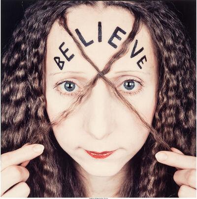 Rimma Gerlovina, 'Be-lie-ve', 1990