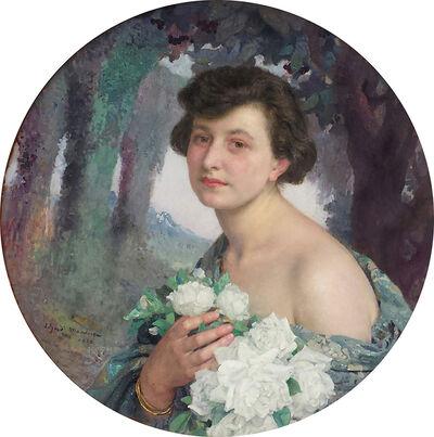 Edgar Maxence, '     Portrait Champetre', 1922