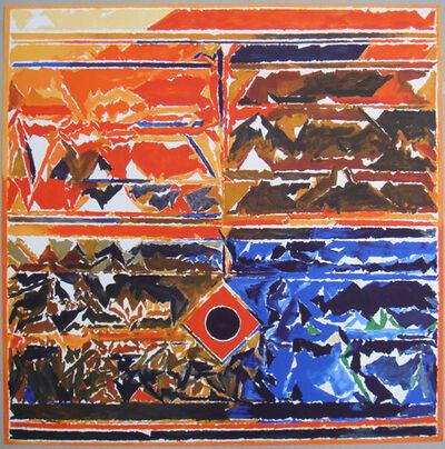 S. H. Raza, 'Symboles 6', 2007