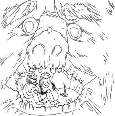 Okay Mountain, '7x7 Collaborative Drawing (#113)', 2012