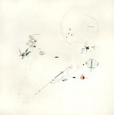 Gianfranco Baruchello, 'Lauf nicht von Weg ab.,', 1964