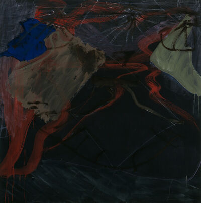 """Per Kirkeby, '""""Untitled""""', 1991"""