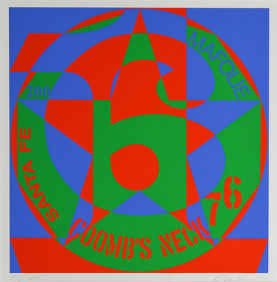 Robert Indiana, 'Decade No. 6', 1980