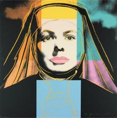 Andy Warhol, 'Ingrid Bergman: The Nun (F&S.II.314)', 1983